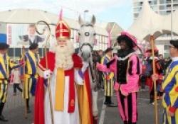 Sinterklaas en zijn gevolg